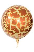 Parti Yıldızı - Orbz Safari Zürafa Folyo Balon 38x38cm