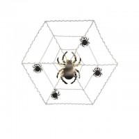 Parti Yıldızı - Örümcek Ağı ve Örümcekler Duvar Dekoru 106 cm