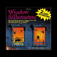 Parti Yıldızı - Örümcekli Pencere Dekoru 2 Adet