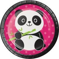 PD - Panda Partisi 8 li Pasta Tabağı