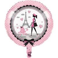 Parti Yıldızı - Paris Partisi Folyo Balon