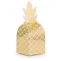 Parti Yıldızı - Pineapple Gold Hediye Kutusu 8 Adet