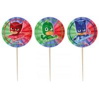 Parti Yıldızı - PJ Masks Lisanslı Kürdan 10 lu