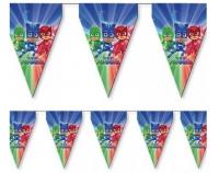 Parti Yıldızı - PJMASKS Bayrak Afiş