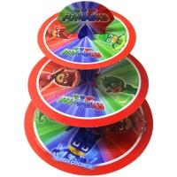 Parti Yıldızı - PJMASKS Cup Cake Standı