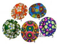 Parti Yıldızı - Plastik Desenli Parti Şapkası