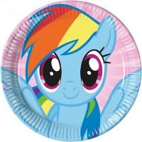 Parti Yıldızı - Pony Mlp Tabak