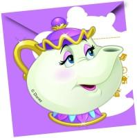 Parti Yıldızı - Prenses Güzel ve Çirkin Davetiye