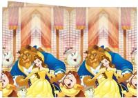 Parti Yıldızı - Prenses Güzel ve Çirkin Masa Örtüsü
