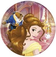 Parti Yıldızı - Prenses Güzel ve Çirkin Tabak