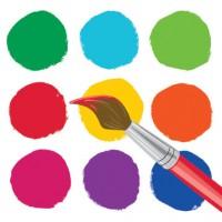 Parti Yıldızı - Renkli Boyama Partisi 16 lı Küçük Peçete