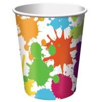 Parti Yıldızı - Renkli Boyama Partisi 8 li Bardak