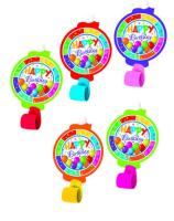 Parti Yıldızı - Renkli Happy Birthday Kaynanadili