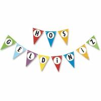 Parti Yıldızı - Renkli Hoşgeldiniz Banner