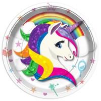 Balonevi - Renkli Unicorn Tabak