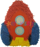 Parti Yıldızı - Roket Şekilli Pinyata