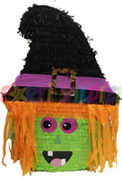Parti Yıldızı - Sevimli Cadı Şekilli Pinyata
