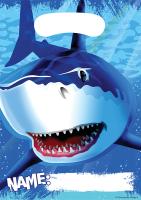 Parti Yıldızı - Sevimli Köpek Balığı 8 li Hediye Poşeti