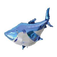 Parti Yıldızı - Sevimli Köpek Balığı SuperShape Folyo Balon