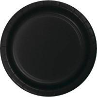 BALONEVI - Siyah Renk 8 li Tabak