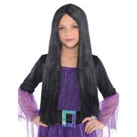 Parti Yıldızı - Siyah Çocuk Cadı Peruğu