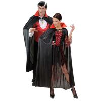Parti Yıldızı - Siyah Vampir Pelerini Yetişkin