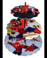 Parti Yıldızı - Spiderman Cup Cake Standı