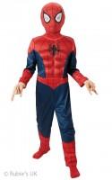 Parti Yıldızı - Spiderman Delux Kostüm