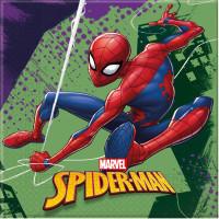 Parti Yıldızı - Spiderman Team Up Peçete
