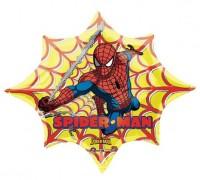 Parti Yıldızı - Spiderman Yıldız Jumbo Folyo Balon