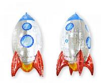 RPS - SSHape 3 Boyutlu Roket Folyo Balon