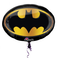 Parti Yıldızı - SShape Batman Amblemi Folyo Balon 68 x 48 cm