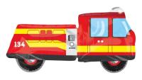 ANAGRAM - SShape İtfaiye Arabası Folyo Balon