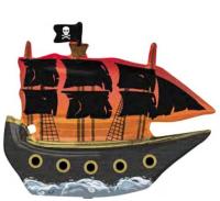 ANAGRAM - SShape Korsan Gemisi Folyo Balon