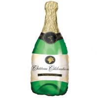 ANAGRAM - Sshape Şampanya Şişesi Balon 35x91cm