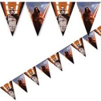 Parti Yıldızı - Star Wars Bayrak Afiş