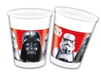 Parti Yıldızı - Star Wars Final Battle 8 li Plastik Bardak