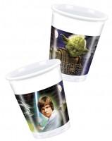 Parti Yıldızı - Star Wars & Heroes 8 li Bardak