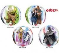 Parti Yıldızı - Star Wars Küre Folyo Balon 4 Cepheli