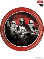 Parti Yıldızı - Star Wars The Last Jedi Tabak