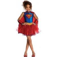 Parti Yıldızı - Supergirl Kız Kostümü