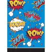 Parti Yıldızı - Superhero Sloganları Hediye Poşeti 8 Adet