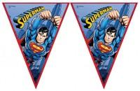 Parti Yıldızı - Superman Bayrak Afiş