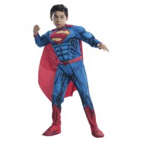 Parti Yıldızı - Superman Deluxe Kostüm