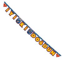Parti Yıldızı - Superman Harf Afiş