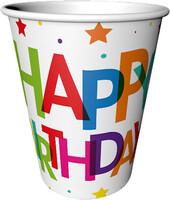 Parti Yıldızı - Superstar Birthday Bardak 8 Adet