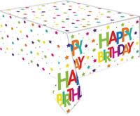 Parti Yıldızı - Superstar Birthday Masa Örtüsü