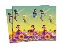 Parti Yıldızı - Tinkerbell Fairies Magic Masa Örtüsü 120*180 cm