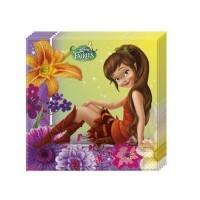 Parti Yıldızı - Tinkerbell Fairies Magic Peçete 33*33 cm