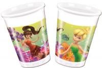 Parti Yıldızı - Tinkerbell Fairies Magic Plastik Bardak 8 Adet